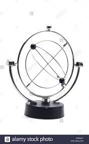 Motion Desk Kinetic Motion Desk Toy Stock Photo Royalty Free Image 32480108