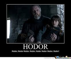 Hodor Meme - hodor by mustapan meme center
