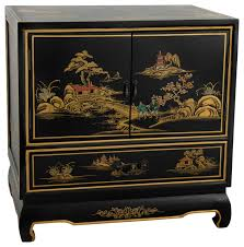black lacquer nightstand asian nightstands and bedside tables