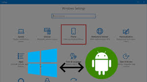 windows for android microsoft allows windows 10 to link to your android device sync