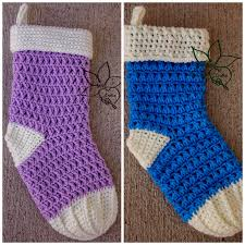 mne crafts christmas stocking crochet patterns