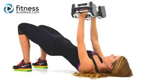 upper body superset workout with fat burning cardio intervals