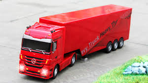 my red truck episodes with vehicles trucks for kids cartoons