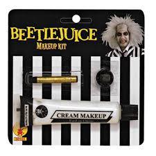 halloween makeup set beetlejuice makeup kit buycostumes com