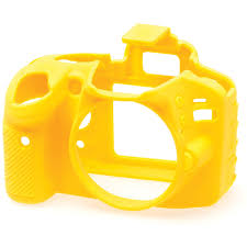 easycover silicone protection cover for nikon d3200 ecnd3200y