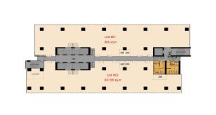 floor plan grade a office in junction city yangon myanmar
