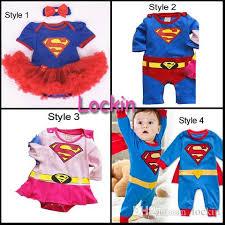 Toddler Superman Halloween Costume Fashion Baby Halloween Supergirl Dress Tutu Bubble Party Dress