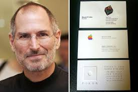Business Card For Ceo Three Of Steve Jobs U0027 Old Business Cards Just Sold For More Than