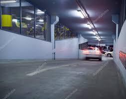 traffic in underground parking garage stock photo blasbike traffic in underground parking garage stock photo 2793650