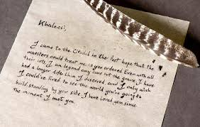 game of thrones posts ser jorah u0027s letter to daenerys in full and