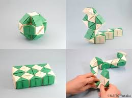 Origami Snake - the origami forum view topic an origami rubik s snake