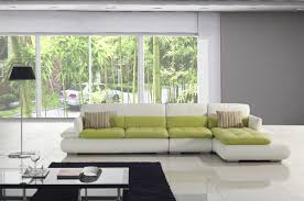 Green Leather Sectional Sofa White And Green Leather Sectional Sofa