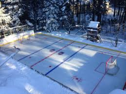 Ice Rink In Backyard Backyard Rinks Calgary Home Outdoor Decoration
