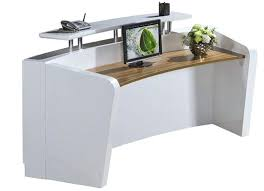 Reception Desk Ebay Salon Reception Desk Small Curved Used Reception Desk