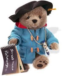 steiff classic teddy paddington bear 354731