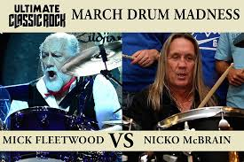 Meme And Nicko - mick fleetwood vs nicko mcbrain march drum madness