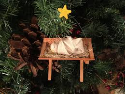 baby jesus barker ornaments