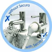 croydex removeable push fit secura bath shower set white amazon croydex removeable push fit secura bath shower set white amazon co uk kitchen home