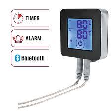 xavax eu 00111593 xavax digital bluetooth bbq thermometer two abx3 high res image 3 xavax digital bluetooth bbq thermometer two stainless