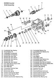 nv4500 transmission illustrated parts drawings get correct parts