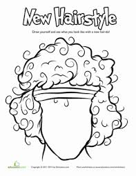 Hair Coloring Pages Education Com 80s Coloring Pages