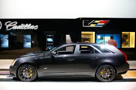 2011 cadillac cts v wagon information and photos zombiedrive