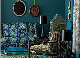 Peacock Living Room Decor Daily Design Delight Pretty In Peacock Peacock Themed Living Room
