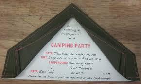 camping birthday invitations alanarasbach com