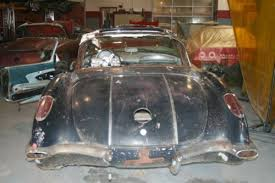 corvette project for sale buy 1958 chevrolet corvette project car plus additional