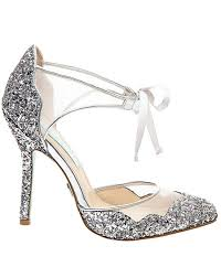 betsey johnson blue wedding shoes blue by betsey johnson sb stela silver wedding shoes the knot