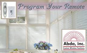 how to program remote hunter douglas powerrise motorization diy
