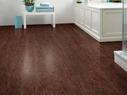 small bathroom flooring ideas tiny bathroom design ideas with dark wood cabinet and red floor mat
