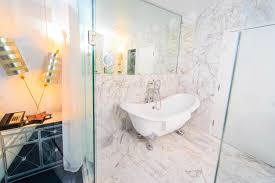 bathroom contemporary picture of rectangular white 4 foot bathtub