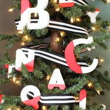 Letter Decorations For Christmas Tree by Seasonal Style My Home Style Christmas Tree Edition Blue I Style