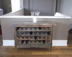 reclaimed wine rack etsy