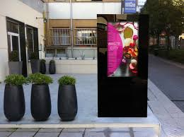 exterior digital signage design decorating simple in exterior