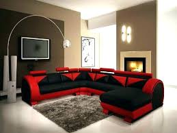 red and black living room set red leather living room set red living room furniture red and black