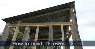 Diy Firewood Storage Shed Plans by Wood Storage Shed Design Idea Building Cheap Garden Shed Plans