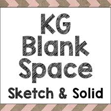 kg blank space font personal use by kimberly geswein fonts tpt