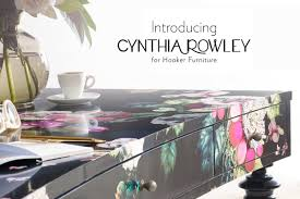 what u0027s new cynthia rowley by hooker furniture the accent wall