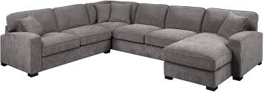 repose charcoal 3 piece sectional from emerald home coleman