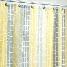 Grey And Yellow Shower Curtains Yellow Gray Curtains Target Watercolour Bloom Eyelet Curtains From