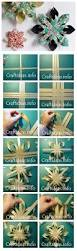 how to make paper star diy step by step tutorial instruction