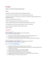 100 restaurant server resume 153206 professional