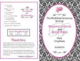 wedding program cover diy program weddingbee photo gallery