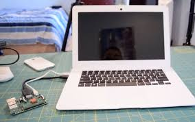 How To Make A Laptop Lap Desk by Dock A Raspberry Pi To Create A Laptop Nexdock The Magpi