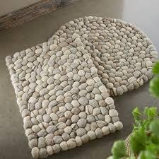 pebble rug felted wool pebble rugs vivaterra
