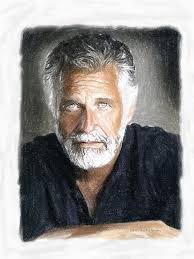 one of the most interesting man in the world painting by angela a