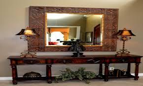 decorating foyer table interior design