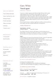 Leasing Agent Resume Example by Printable Of Talent Agent Resume Large Size Travel Agent Resume